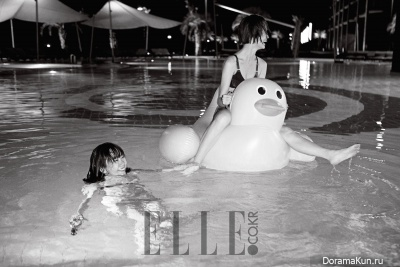 Bae Doo Na, Song Kyung Ah для Elle December 2015