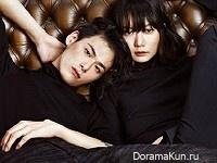 Bae Doo Na, Kim Won Joong для High Cut November 2015