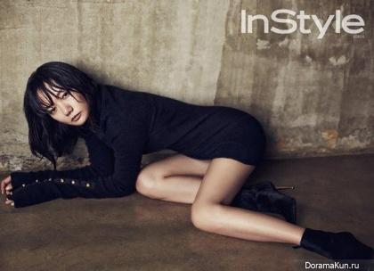 Bae Doo Na для InStyle October 2015
