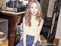 Baek Ah Yeon для Grazia July 2015