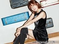 Baek Jin Hee для Cosmopolitan January 2015
