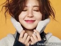 Baek Jin Hee для Grazia November 2015