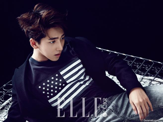 B1A4 (Baro) для Elle October 2014 Extra - Фотосессии B1a4 Sandeul And Baro