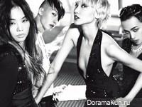 G-Dragon, Park Hyo Shin для W Korea 2015