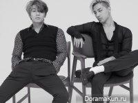 Big Bang для GQ August 2015 Extra 2