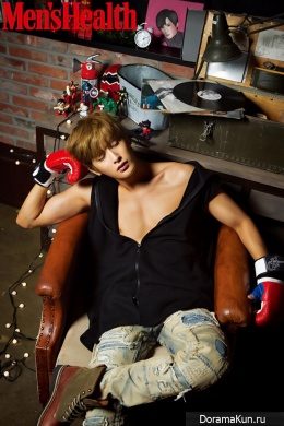 Block B (Jaehyo) для Men's Health December 2015