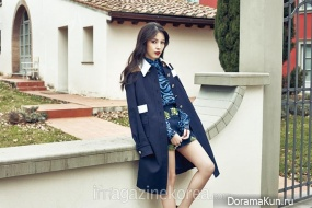 BoA для Harper's Bazaar April 2015