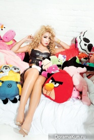 2NE1 (CL) для Complex February 2015