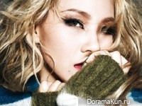 2NE1 (CL) для Dazed & Confused November 2014