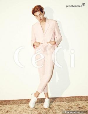 CN Blue (Lee Jung Shin) для CeCi March 2015