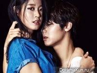 Seolhyun (AOA) CNBlue (Kang Min Hyuk) для High Cut Vol.146