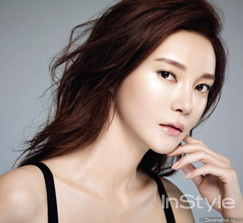 Cha Ye Ryun для InStyle August 2014