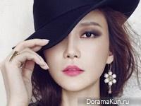 Cha Ye Ryun для SURE October 2014