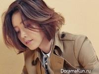 Chae Jung An для Singles September 2015