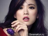 Cheon Woo Hee для Vogue December 2014