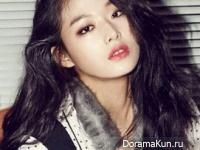 Choi Ara для Cosmopolitan November 2014