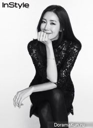 Jung Woo Sung, Choi Ji Woo, Han Ji Min, Lee Dong Wook для InStyle January 2015
