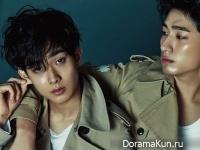 Choi Woo Shik, Yoon Park для CeCi November 2014