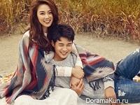 Choi Woo Sik, Jang Hee Ryung для CeCi November 2015 Extra