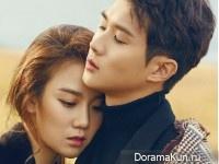 Choi Woo Sik, Jang Hee Ryung для CeCi November 2015