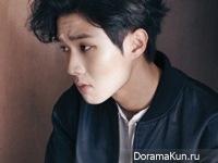 Choi Woo Sik для Grazia February 2015