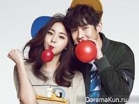 Uee, Choi Woo Sik и др. для @Star1 February 2015