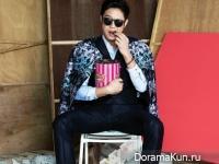 Chun Jung Myung для Cosmopolitan March 2015