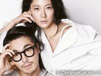 Clara, Choi Bum Suk для Grazia September 2014