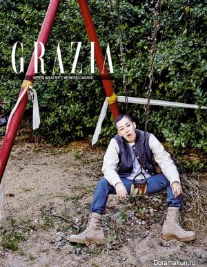 DinDin для Grazia Magazine 2015