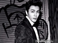Super Junior (Donghae) для The Celebrity December 2014 Extra
