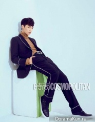 Lay (EXO) для Cosmopolitan China August 2015