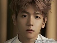 EXO (Baekhyun, Xiumin) для Singles December 2015