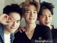Baekhyun, Suho, Chen (EXO) для @Star1 August 2015