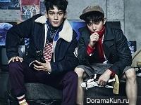 EXO для Vogue Korea December 2015