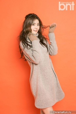 Gil Eun Hye для BNT International December 2014