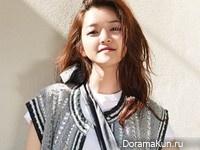 Go Ah Sung для Cosmopolitan July 2015
