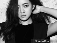 Go Ah Sung для InStyle December 2014