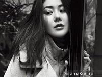 Go Hyun Jung для Harper's Bazaar November 2014 Extra