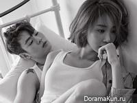 Go Joon Hee, Han Ye Jun для Elle May 2015 Extra
