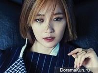Go Joon Hee для Heren November 2014