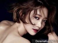 Go Joon Hee для InStyle January 2015