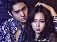 Go Kyung Pyo, Ryu Hye Young для Cosmopolitan September 2015