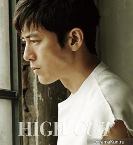 Go Soo для High Cut Vol.150