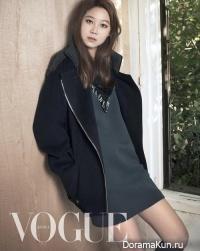 Gong Hyo Jin для Vogue Korea November 2014