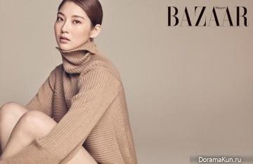 Gong Seung Yeon для Harper's Bazaar October 2015