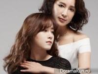 Goo Hye Sun, Shim Hye Jin для InStyle October 2014