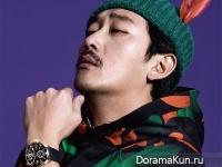 Ha Jung Woo для Esquire January 2015