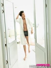 Ha Suk Jin для Cosmopolitan October 2015 Extra