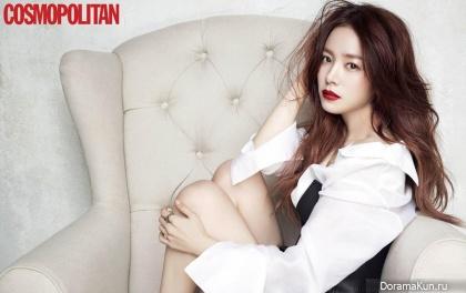 Han Ji Min для Cosmopolitan January 2015