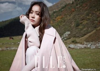 Han Ji Min для Elle Korea November 2014 Extra